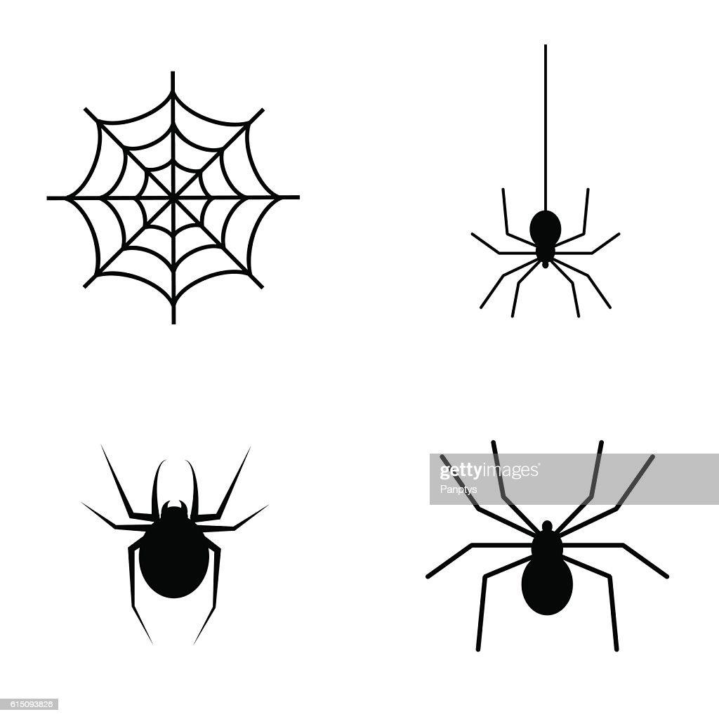 spider vector icon set vector art thinkstock rh thinkstockphotos co uk spider vector eps spider vector free