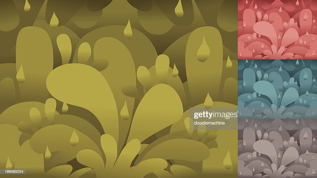 Splatty Backgrounds : Vector Art