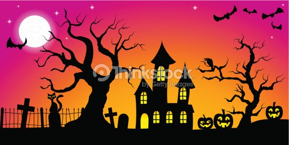 fond halloween spooky clipart vectoriel thinkstock. Black Bedroom Furniture Sets. Home Design Ideas