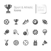 A useful sport & athletic related icons. Suitable for your design project. The file contain transparency eps10. ZIP folder include AICS4.