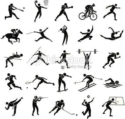 Sport-icon-set – Vektor Illustration...