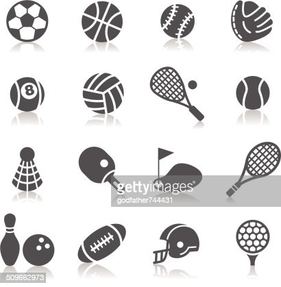 Sport Icons : stock vector