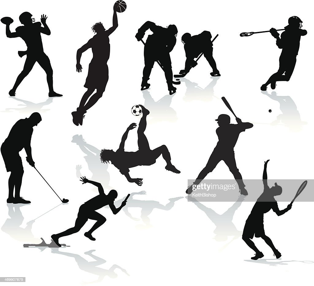 sports players male athletes football baseball basketball lacrosse