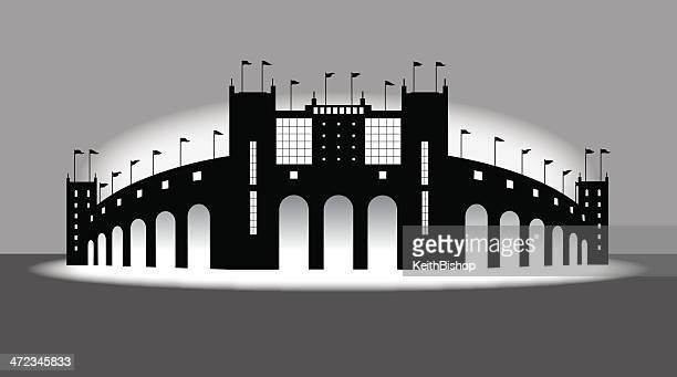 Sports Stadium - Arena Background