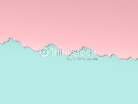 Spread cream on a colored background : stock vector
