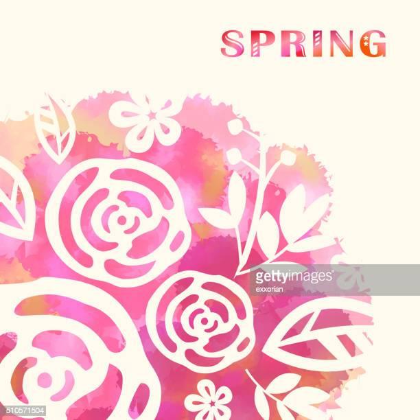 Frühling Blüte Hintergrund