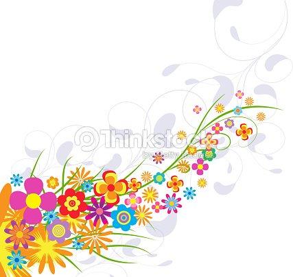 Spring flower background vector art thinkstock spring flower background vector art mightylinksfo