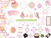 Spring Japanese pattern