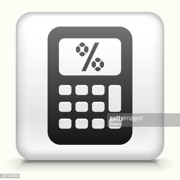 Square Button with Calculator