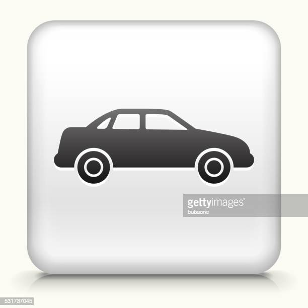 Square Button with Carcass of the Car