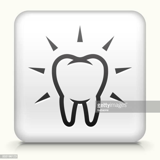Botón cuadrado con & limpieza potentes de dientes