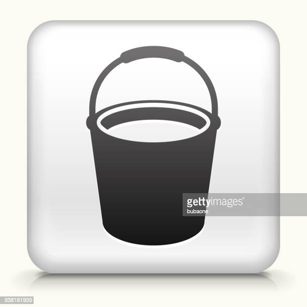 Square Button with Cleaning Bucket