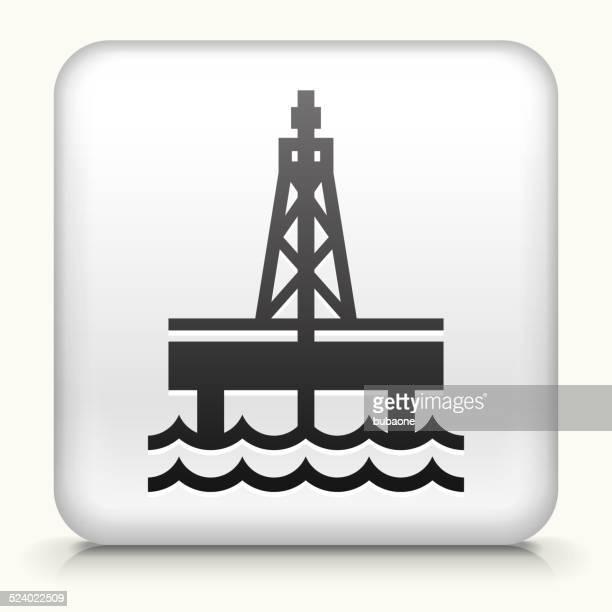 Square Button with Oil Drill