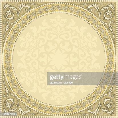 Square circle : Vector Art