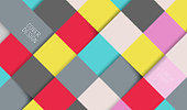 Square pattern abstract background wallpaper.