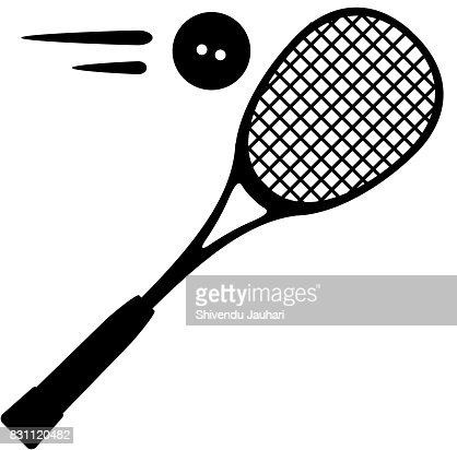 Squash Sport Icon Illustration : stock vector