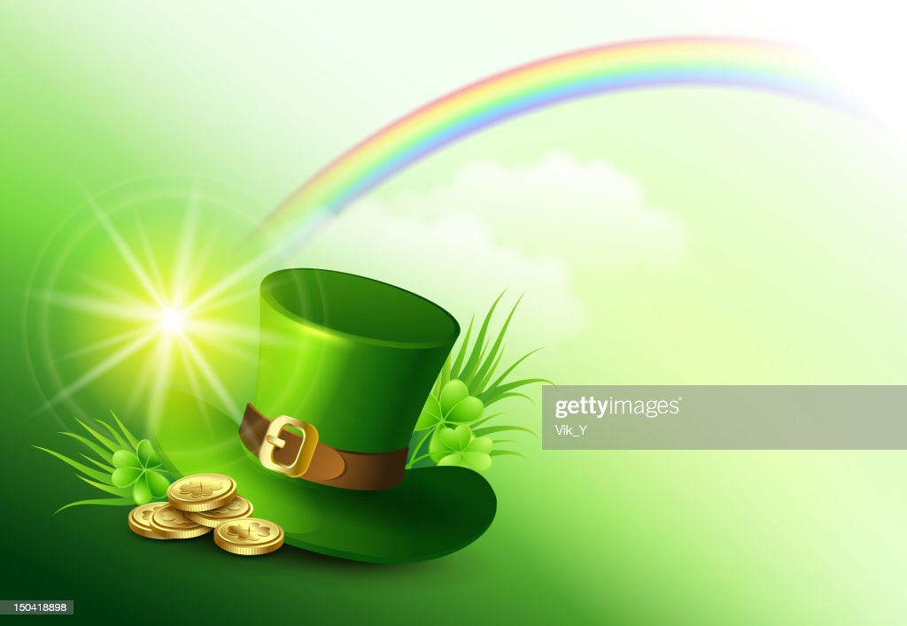 St Patricks Day Background Vector Art Getty Images