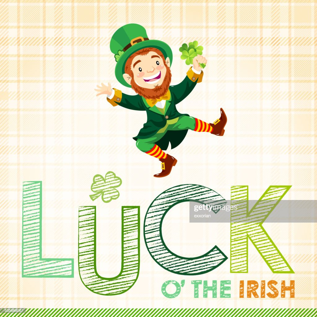 st patricks day luck othe irish vector art getty images