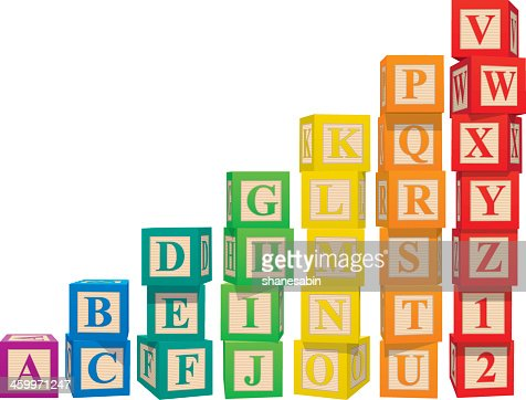 Alphabetical Order Vector Art And Graphics