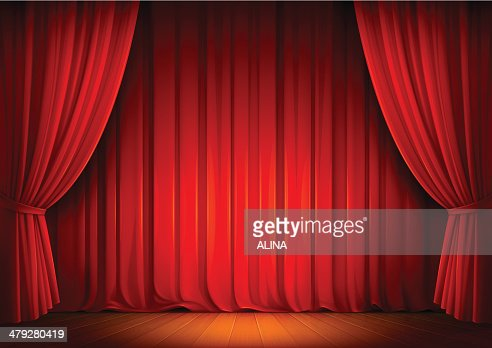 Stage Curtains : stock vector