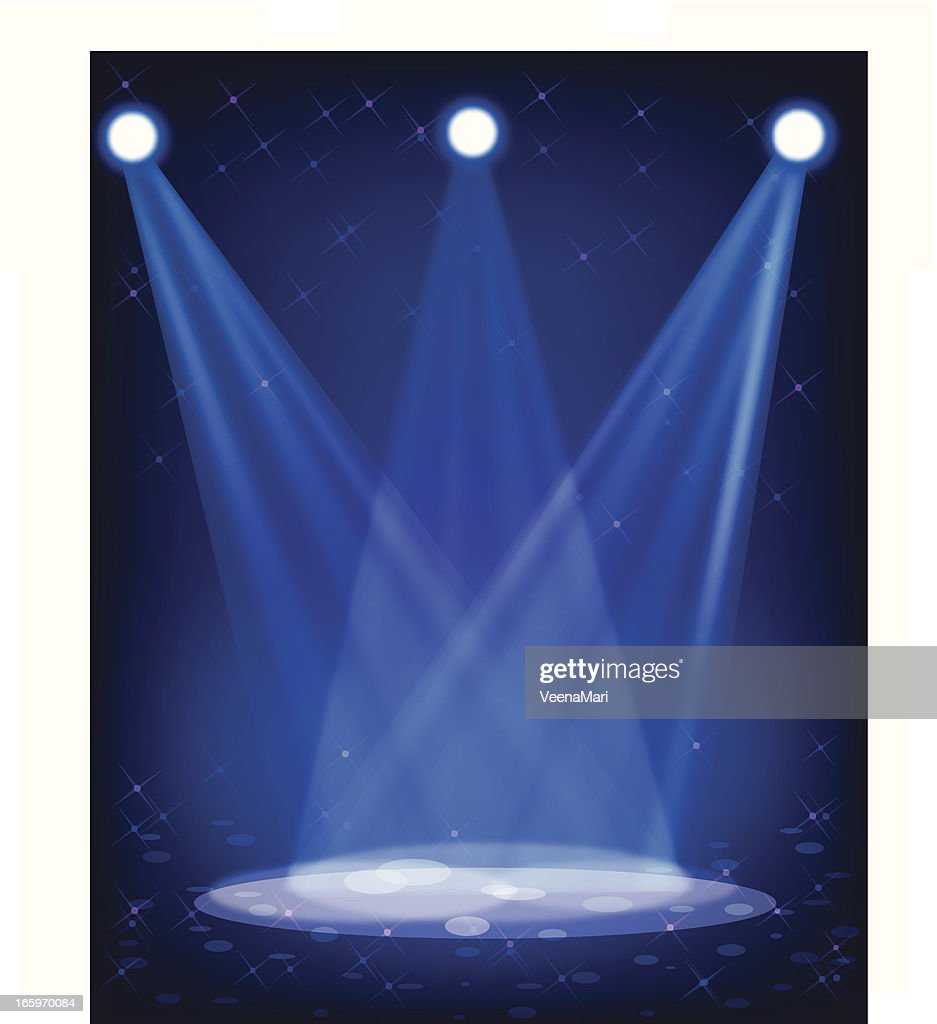 Stage Lights Vector Art | Getty Images