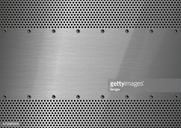 Stainless Steel with perforation