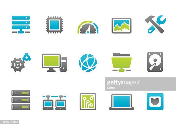 Stampico icons - Computer Network