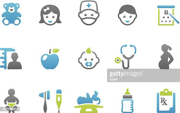 Stampico icons - Pediatrician