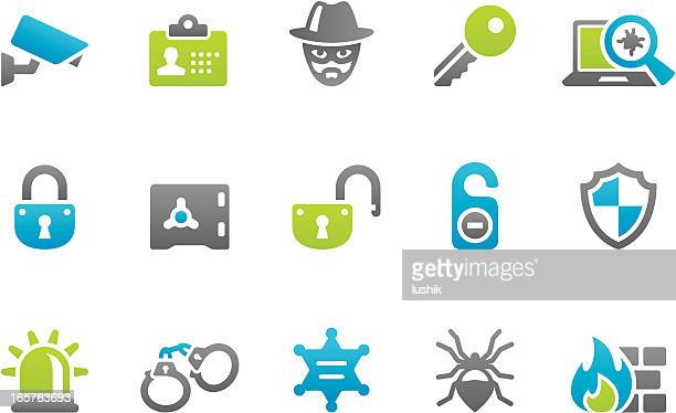 Stampico icons - Security