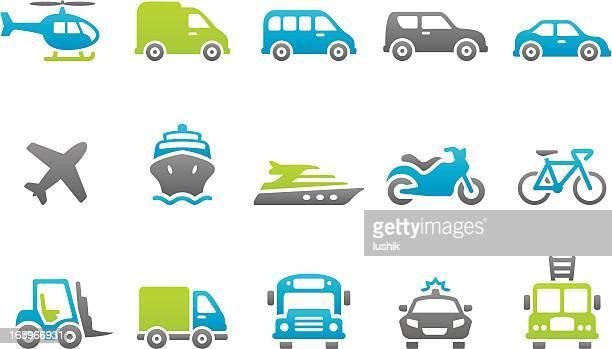 Stampico icons - Transport