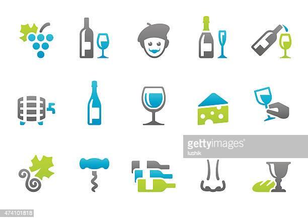 Stampico icons - Wine