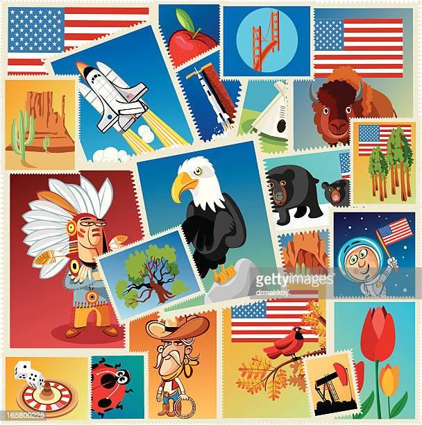 USA los sellos