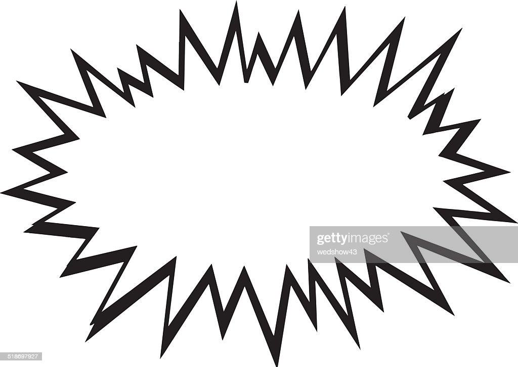 starburst comic book vector clipart vector art thinkstock rh thinkstockphotos in starburst clipart vector free starburst clipart black and white