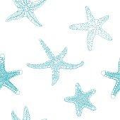 Starfishes pattern