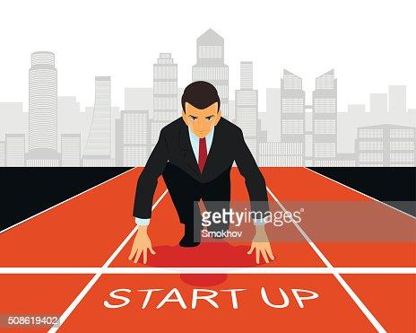 Start up in business : Vector Art