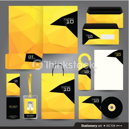 stationery template design vector art thinkstock