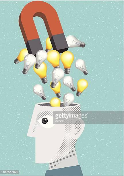 Stealing idea using magnet