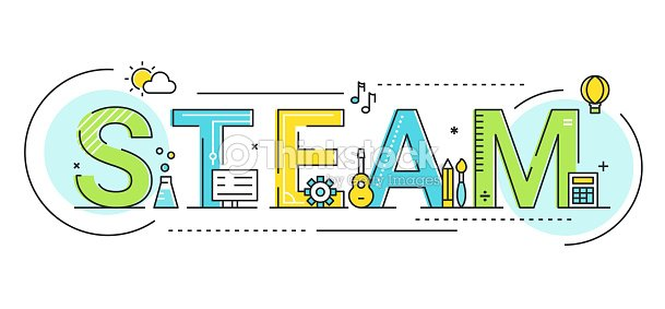 Steam Education Approach Concept Vector Illustration : stock vector