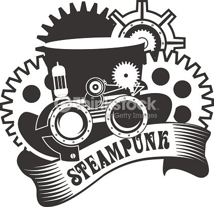 Steampunk Mechanism Vector Art | Thinkstock