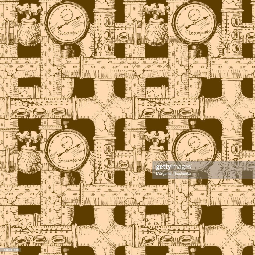 steampunk : Vector Art