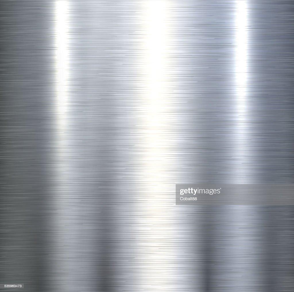 Steel metal background : Vector Art