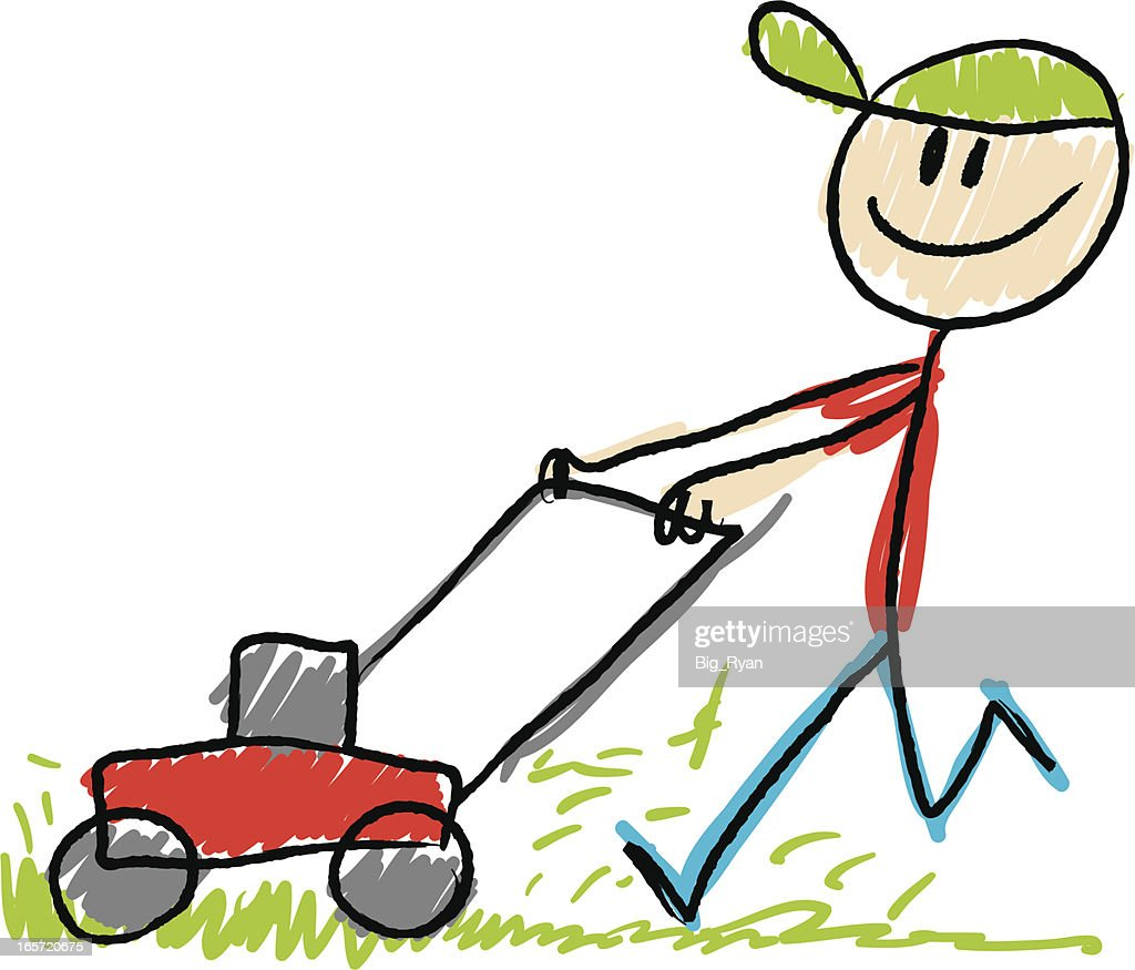 lawn mower vector -#main