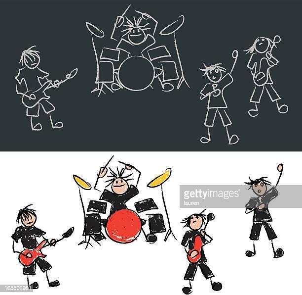 Stick Figura rock band