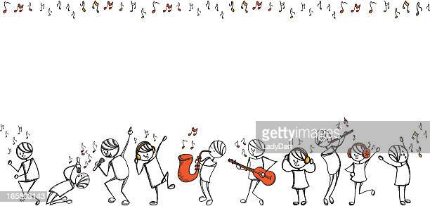 Stick people music series