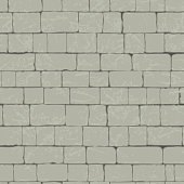 Stone wall seamless pattern. Beautiful vector image in grey color.
