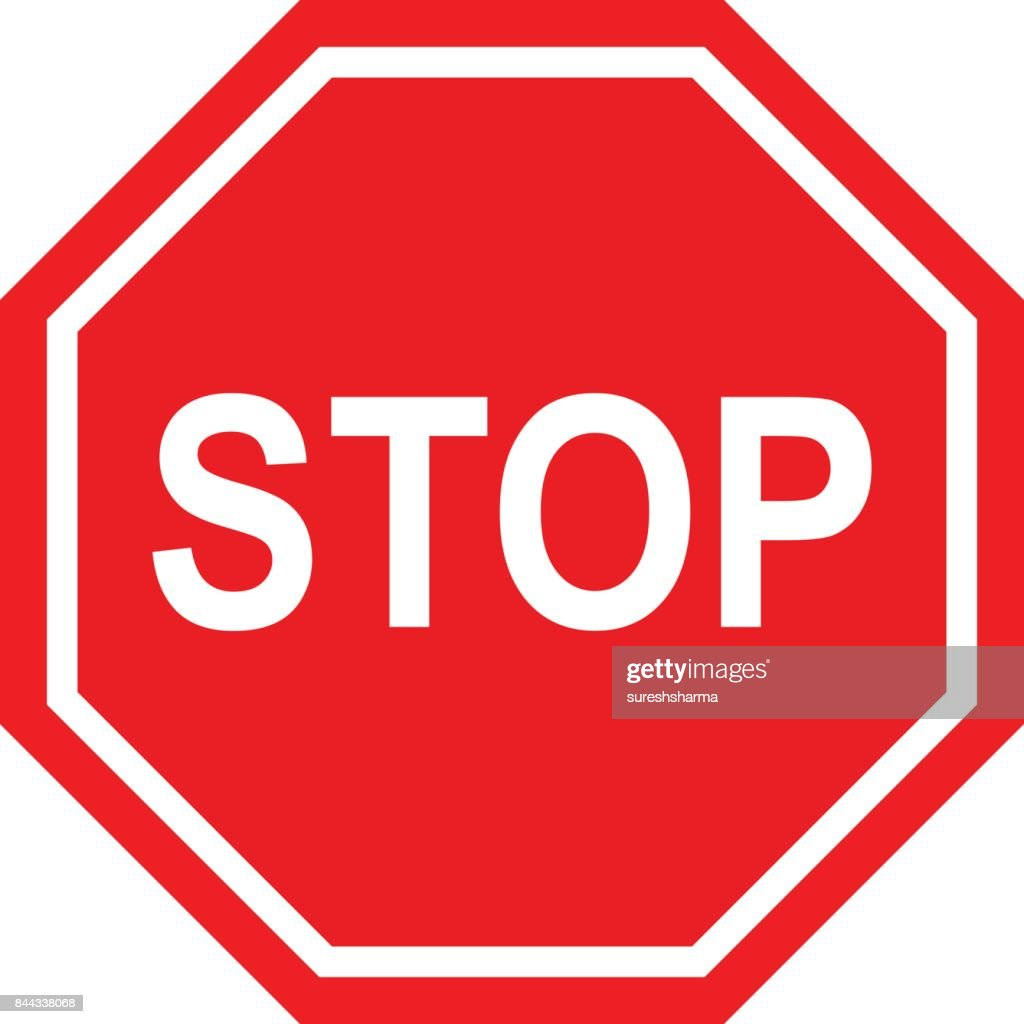 stop sign stock photos and illustrations royalty free images rh thinkstockphotos com stop sign vector eps stop sign vector free