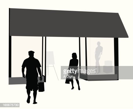Furniture icons vector art getty images - Window Display Vector Art And Graphics Getty Images