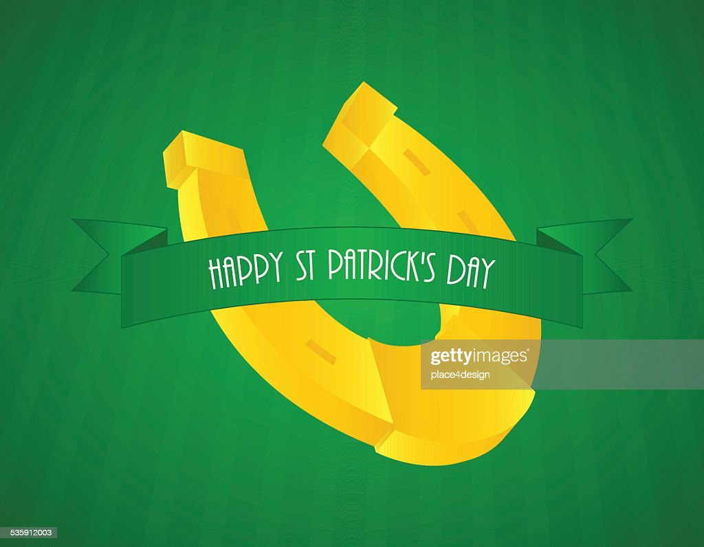 St.Patrick's day background : Vector Art