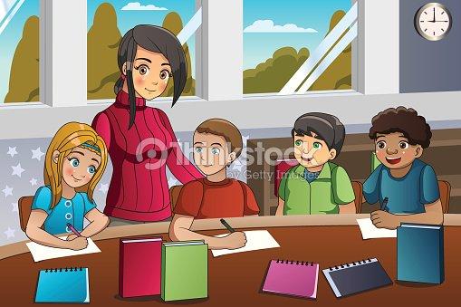Profesora anatomia con joven estudiante adolecente - 2 7