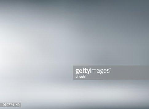 柔らかな照明とスタジオ ルーム灰色背景。 : ベクトルアート